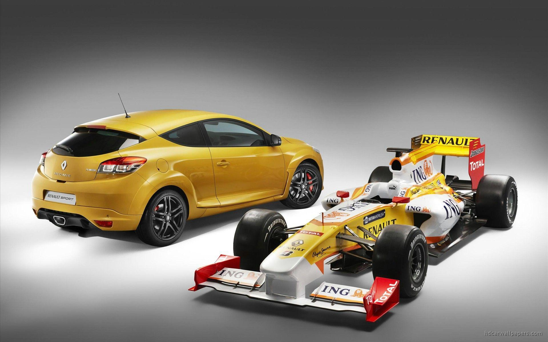 2010 New Megane Renault Sport 3 Wallpapers