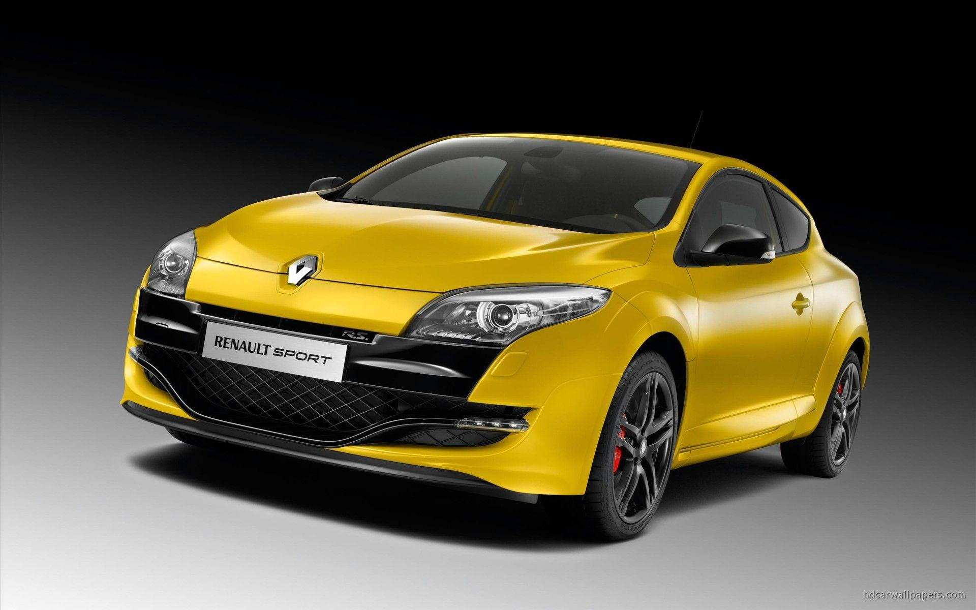 2010 New Megane Renault Sport Wallpapers
