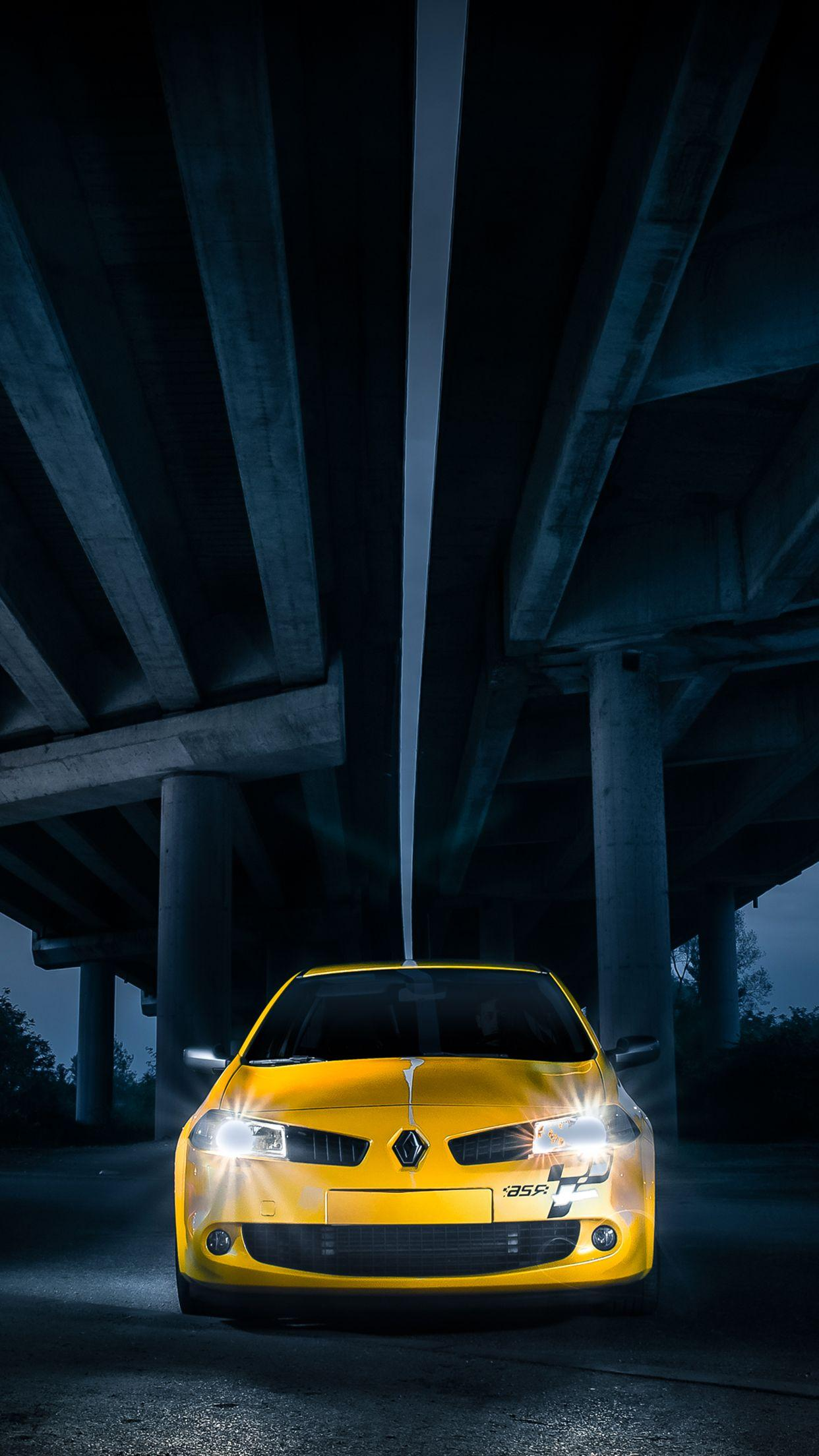 Megane 2 RS Wallpapers for iPhone X, 8, 7, 6