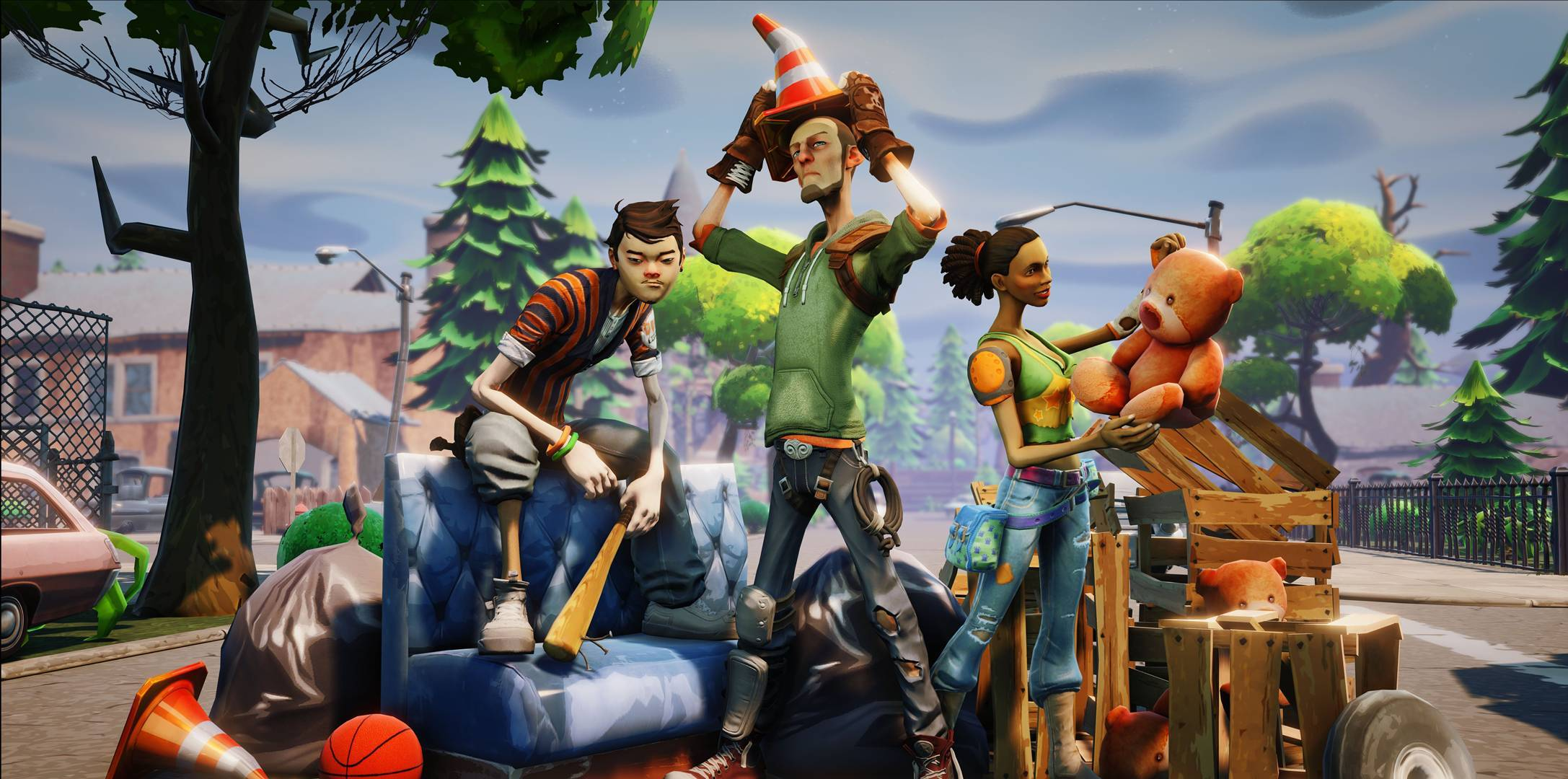 Fortnite Wallpapers in 1080P HD « Video Game News, Reviews