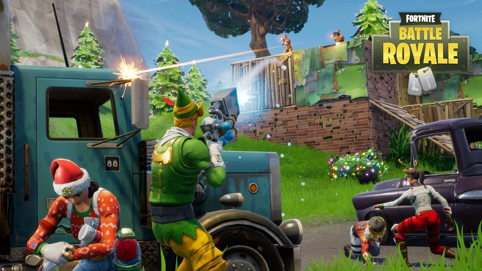 Fortnite Battle Royale' update adds biomes and a huge new city to