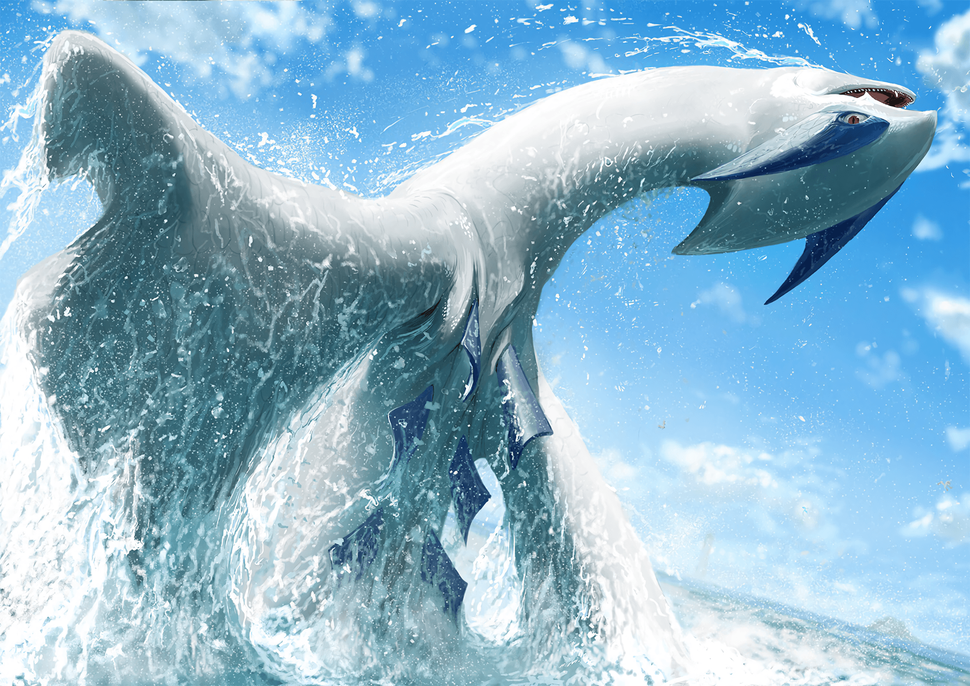 44 Lugia (Pokémon) HD Wallpapers | Background Images - Wallpaper Abyss