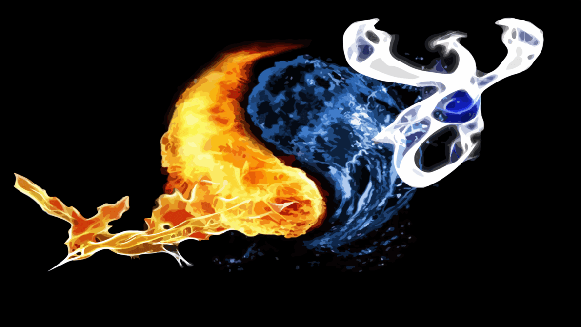 lugia wallpaper | Moltres and Lugia Wallpaper by ACastroDesigner ...