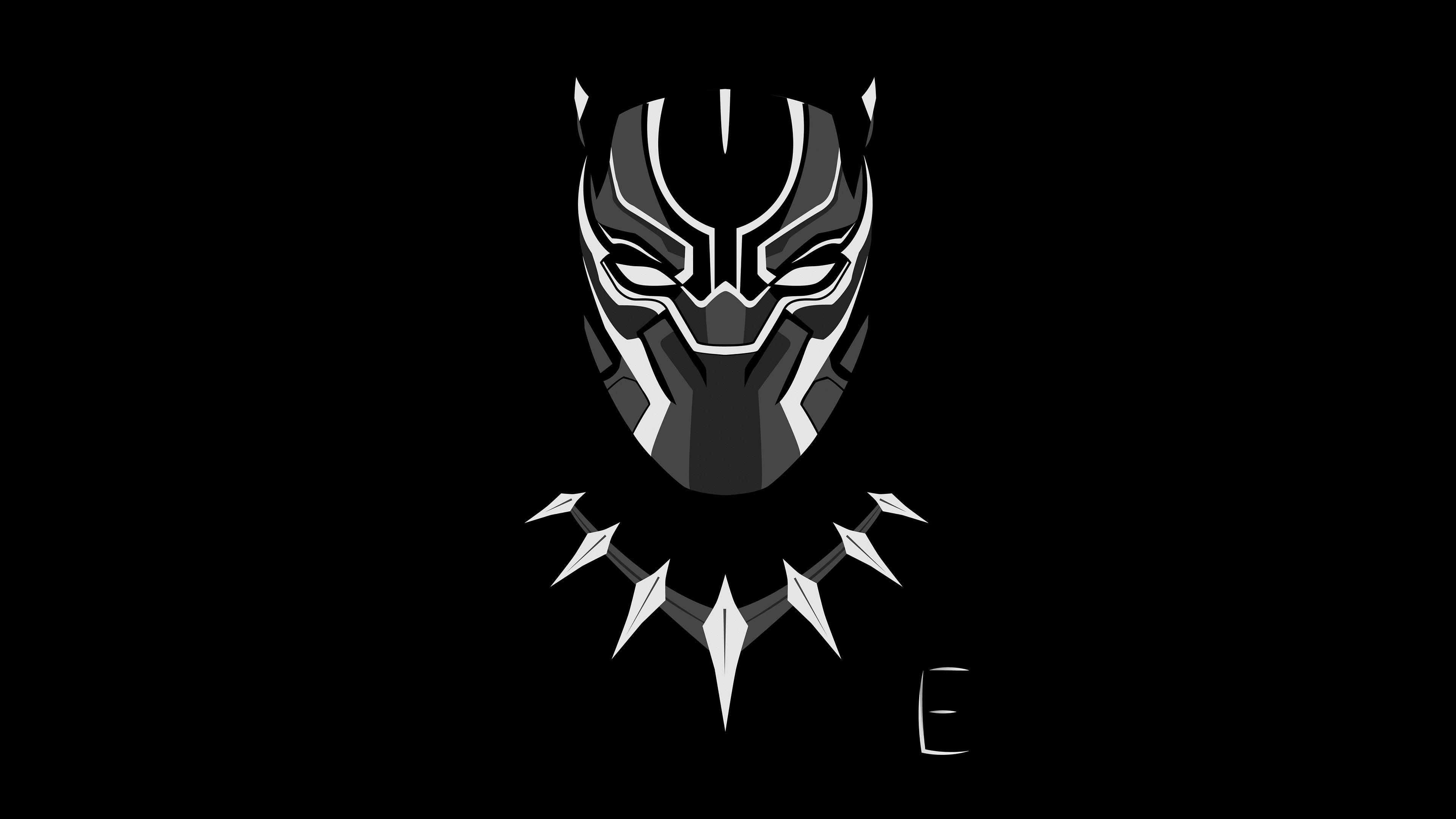 black panther logo wallpapers - wallpaper cave