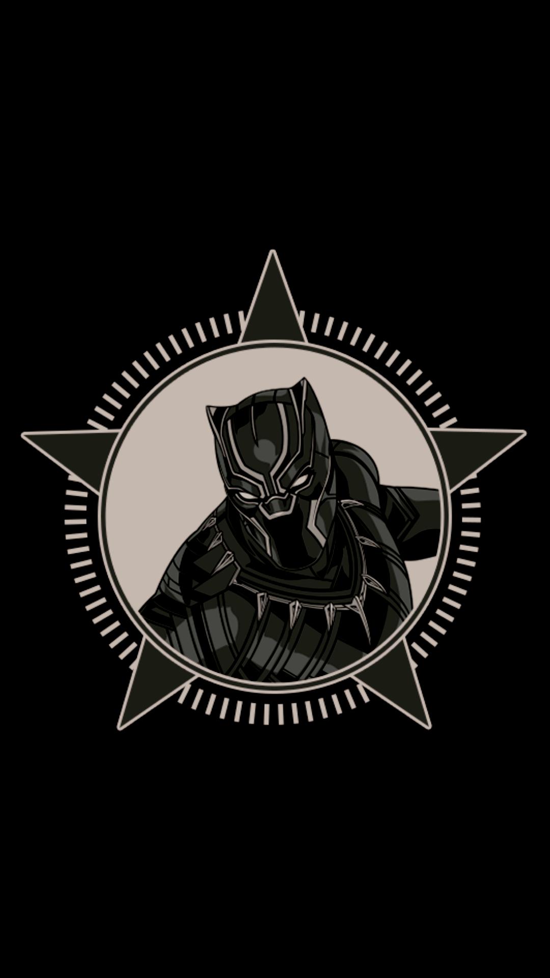 Black Panther Logo Wallpapers - Wallpaper Cave