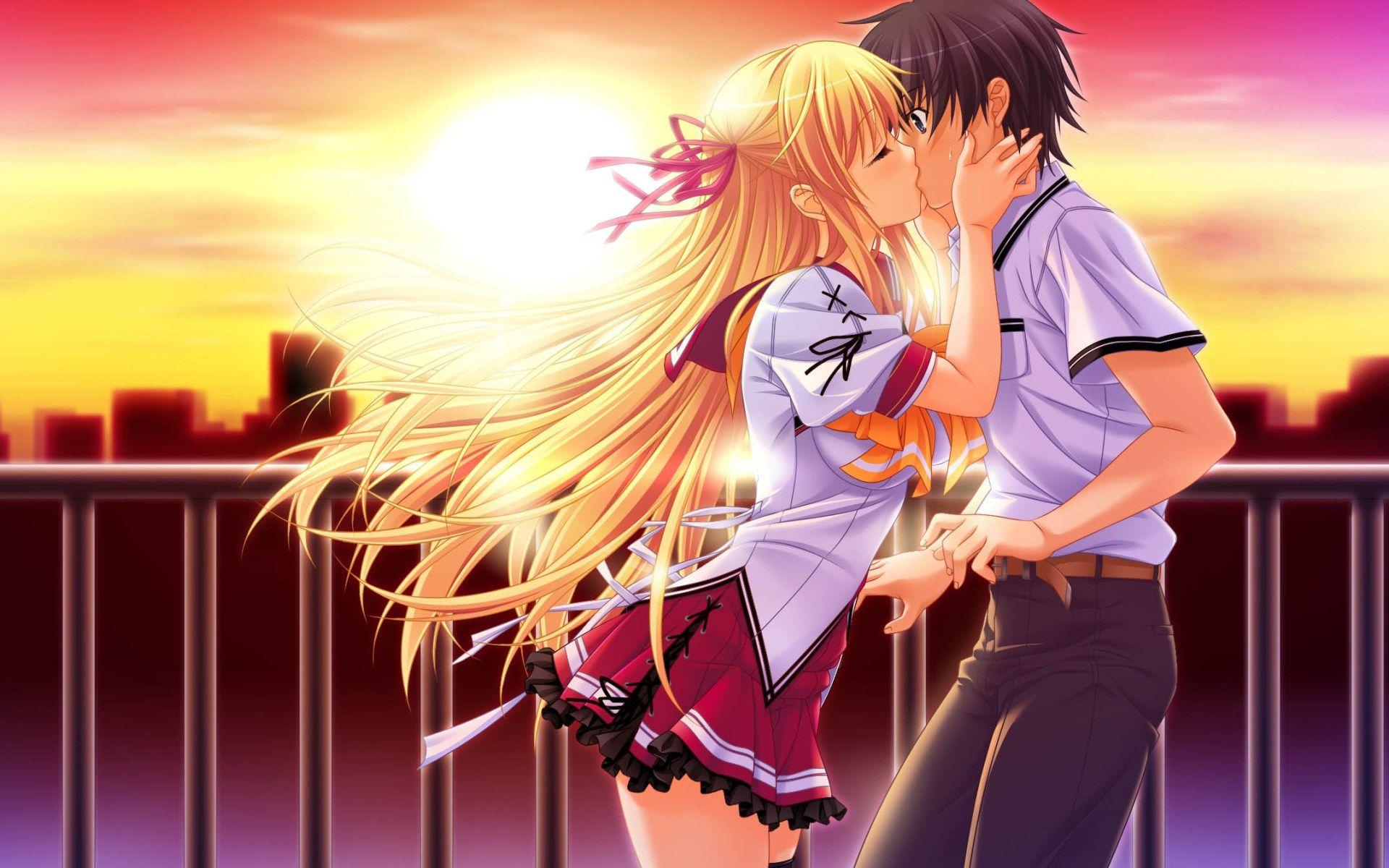 Anime Boy And Girl Wallpapers Wallpaper Cave