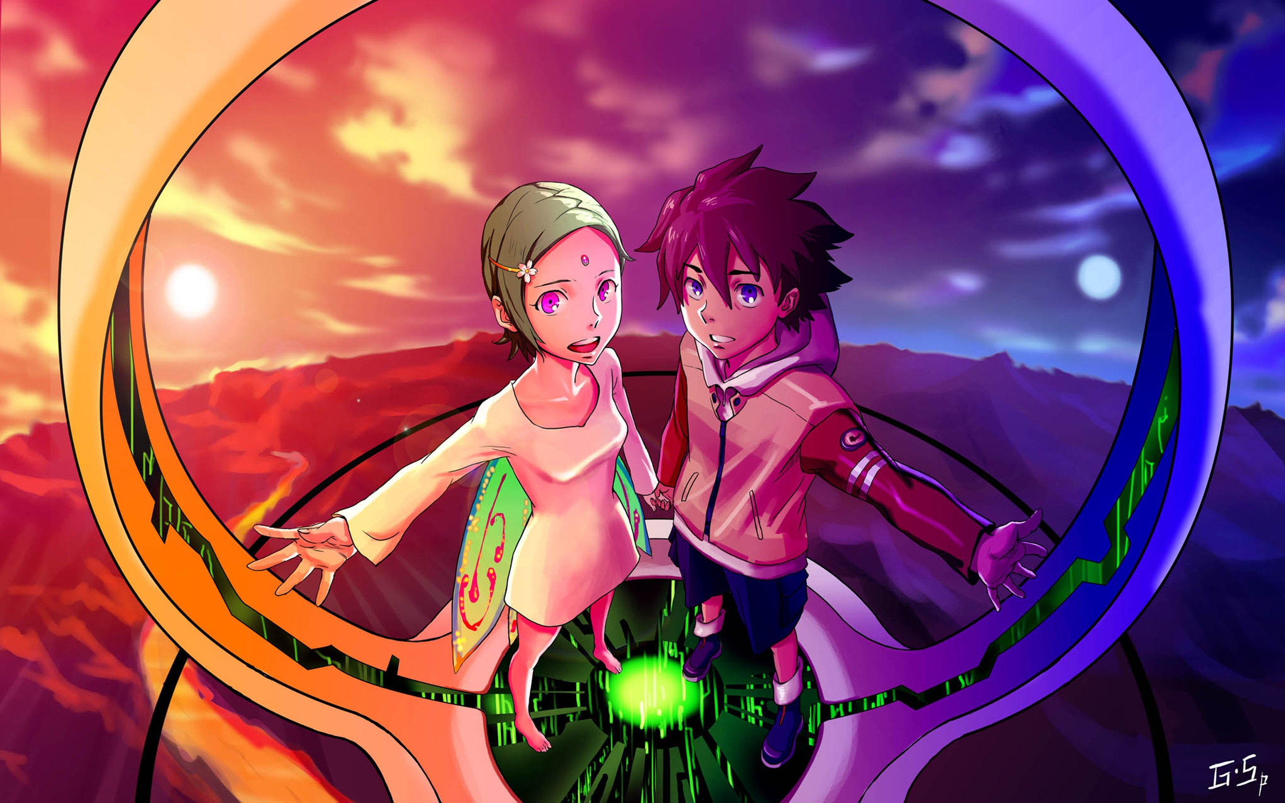 Anime Boy And Girl Wallpapers - Wallpaper Cave