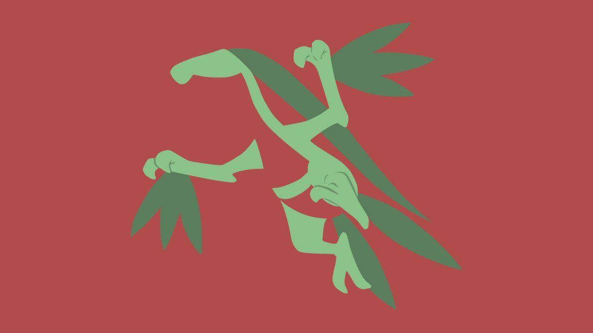 Grovyle Minimalist Wallpapers by DamionMauville