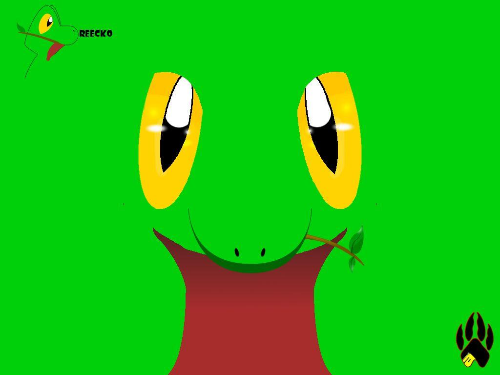 Treecko Face Wallpapers by Lownleinhigh