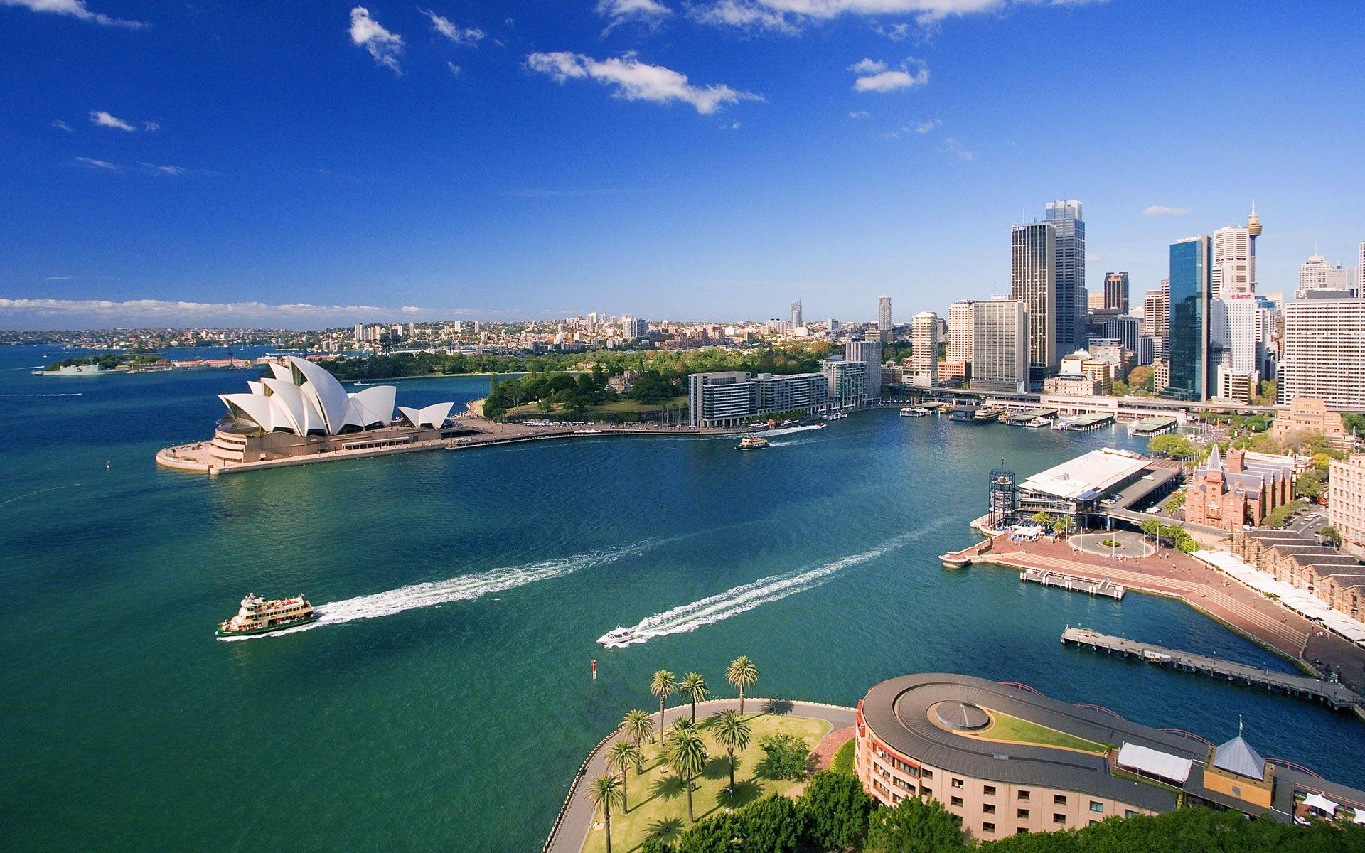 Downtown Sydney Australia Wallpapers
