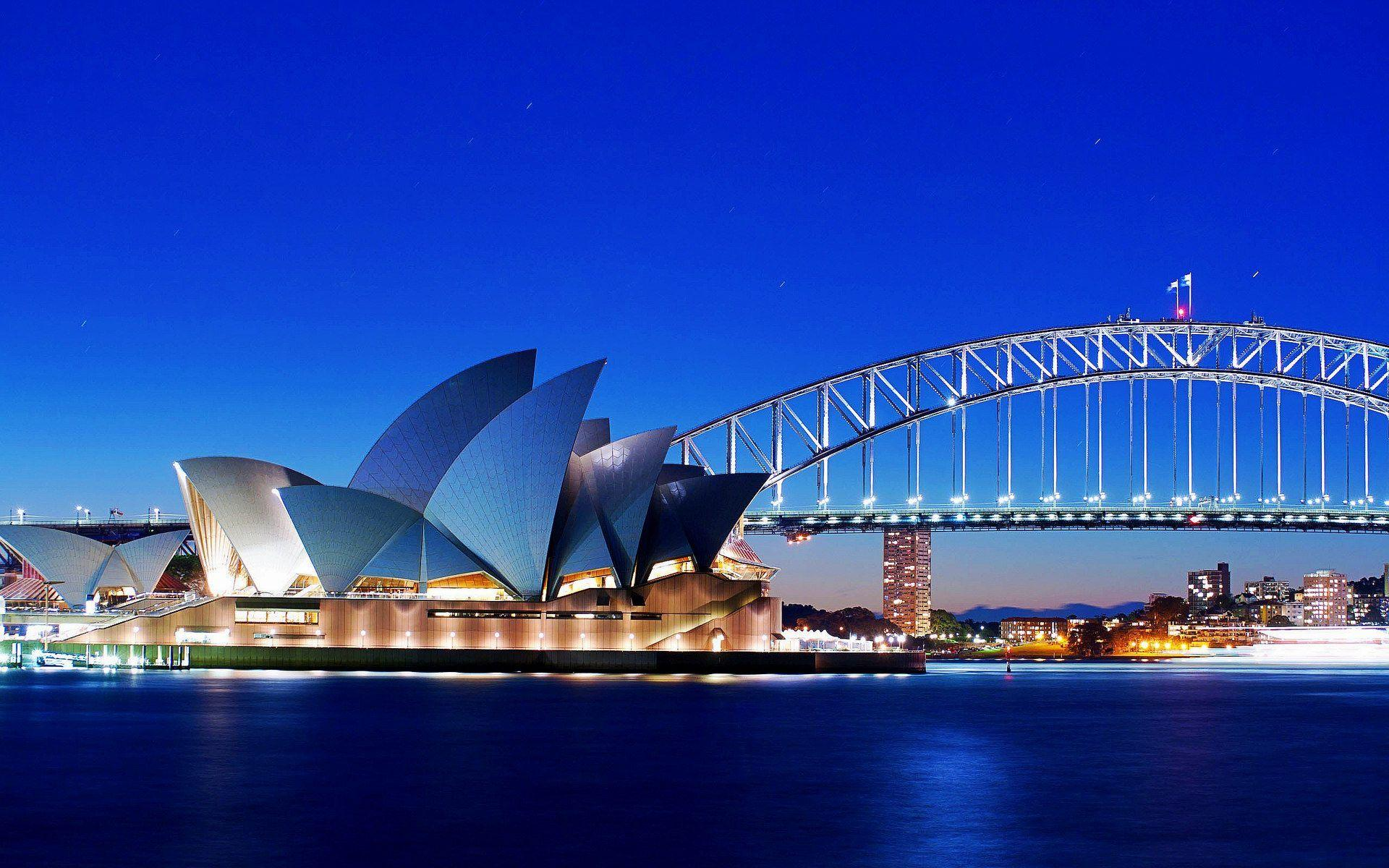 Sydney Opera House and Bridge Wallpapers