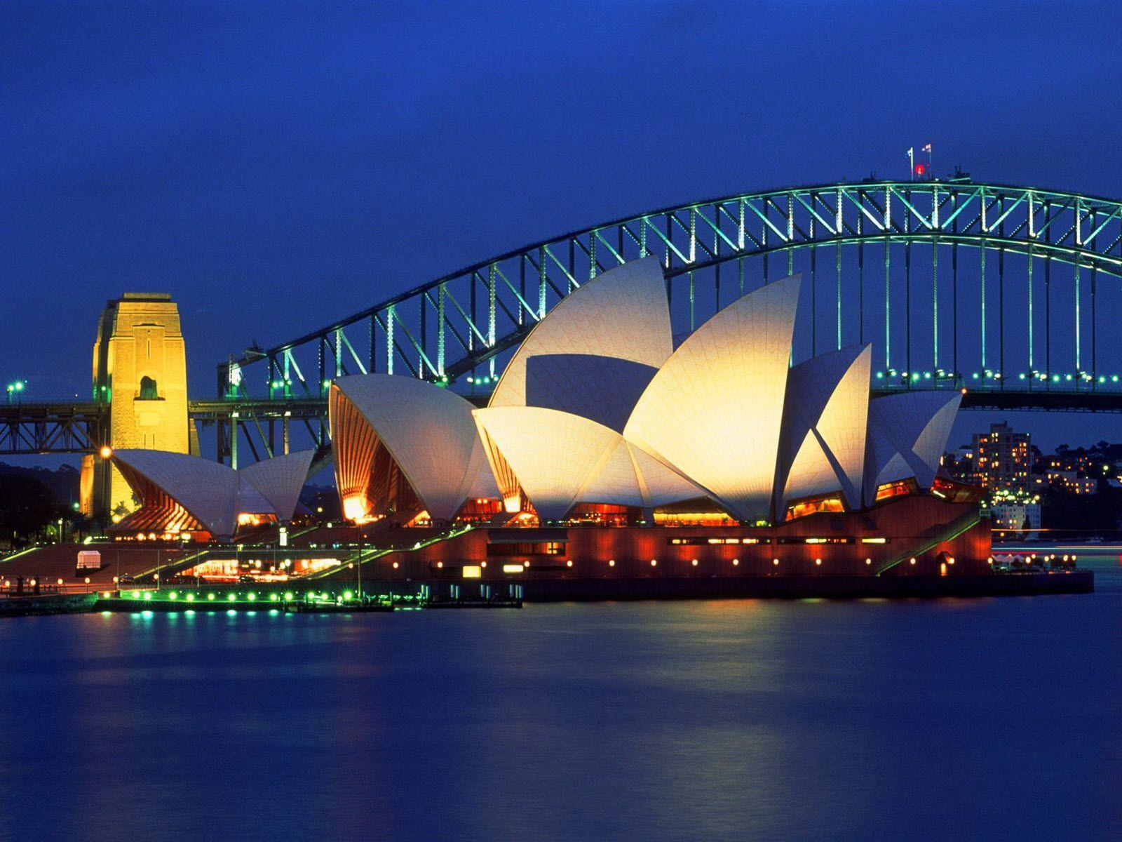 Sydney Opera House, Australia Wallpapers | HD Wallpapers | ID #5996