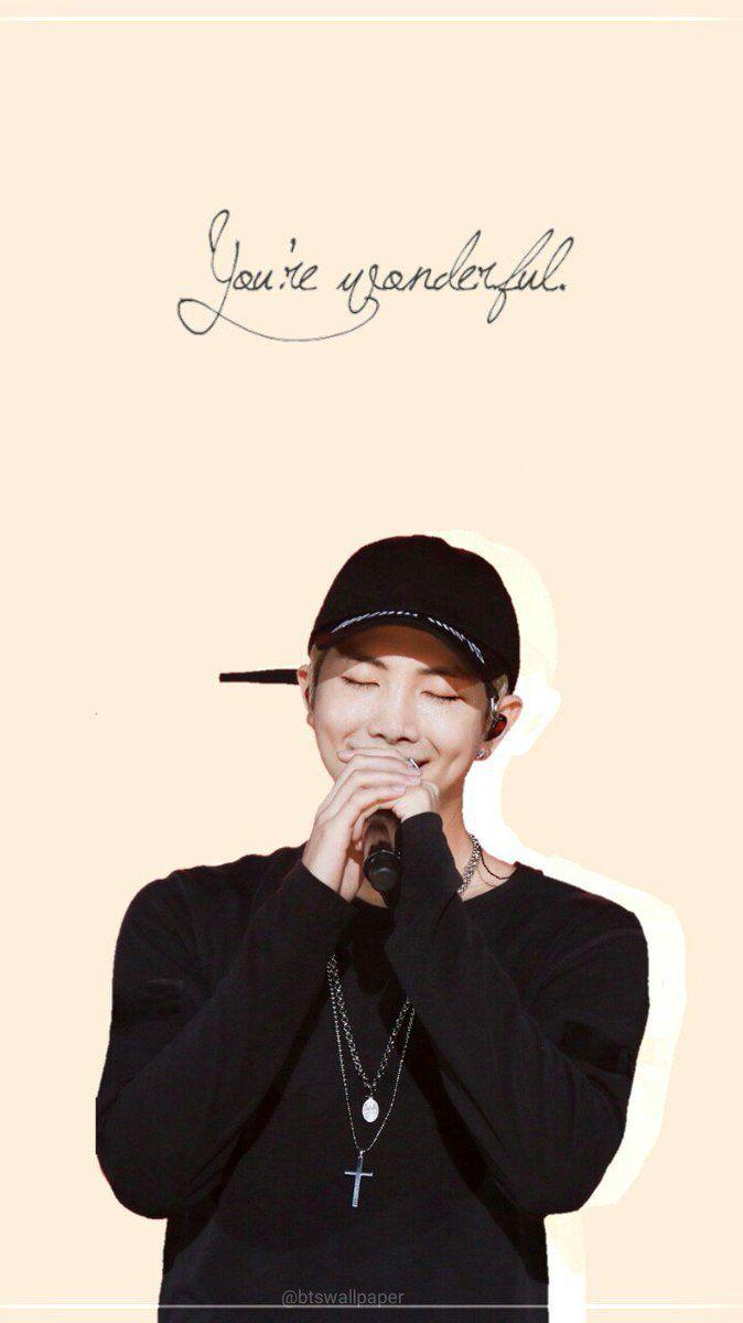Kim Namjoon Wallpapers Wallpaper Cave