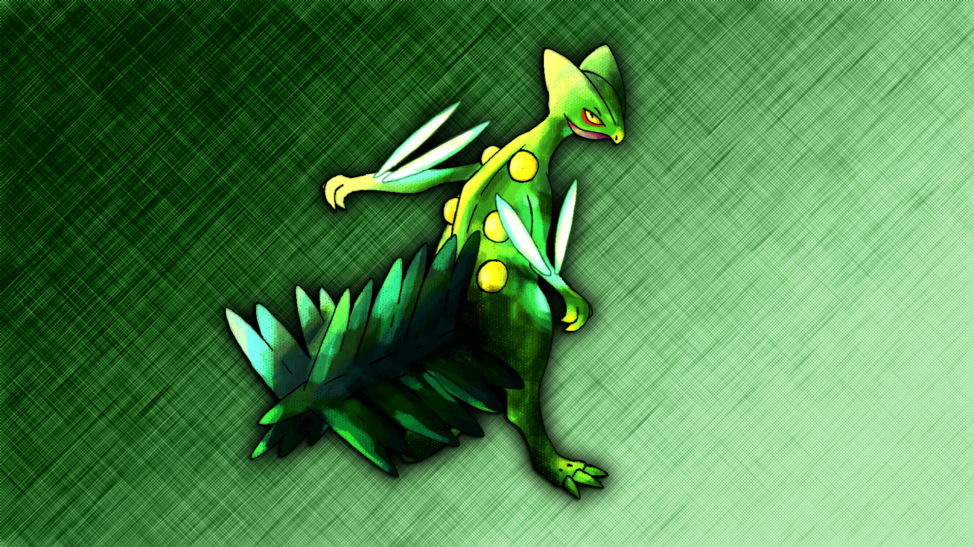 Sceptile Wallpapers by Glench
