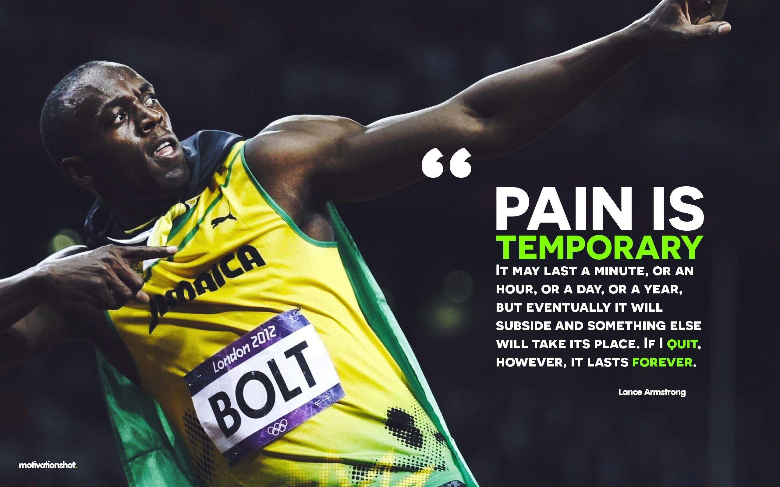 bolt quotes wallpapers motivational usain sports sport quote running poster athletics endurance 4k sprint action athletes background 1080p success desktop