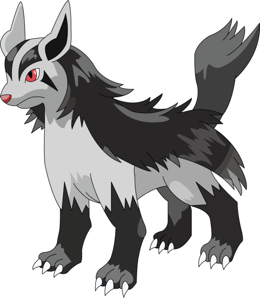 Ivo as a Mightyena by ingmaster5