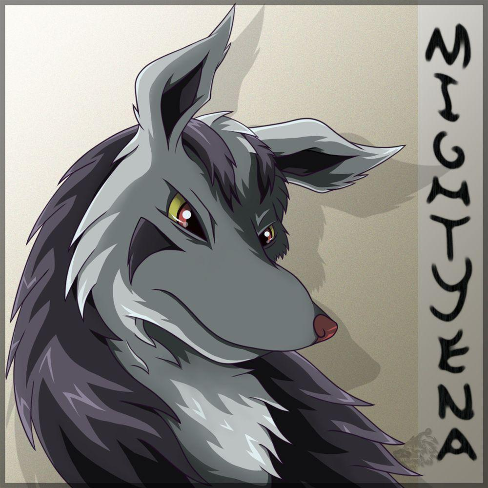Mightyena... again by HyenaVitani