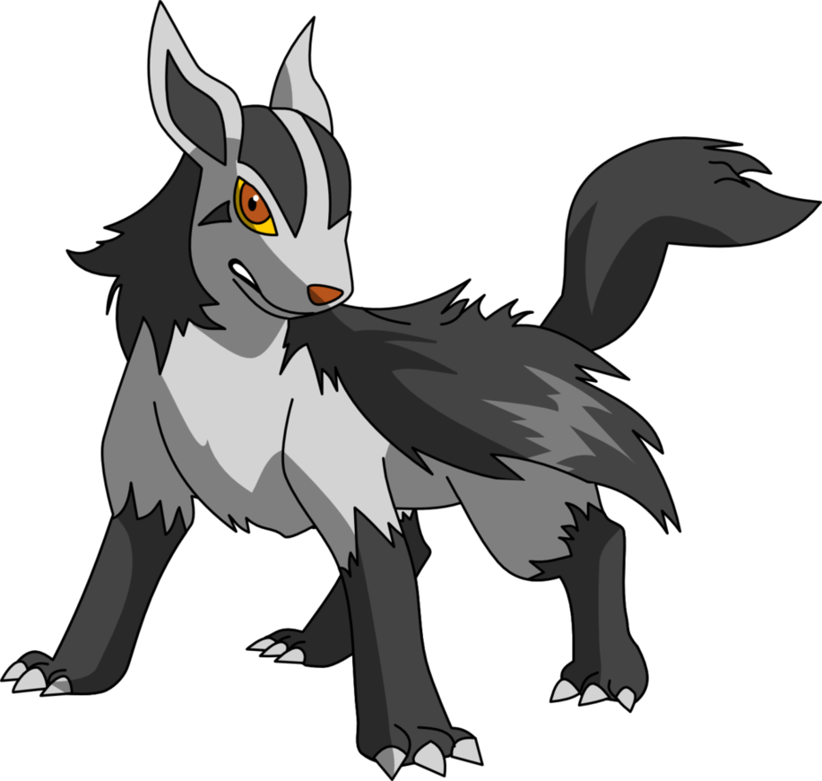 262 Mightyena by PkLucario