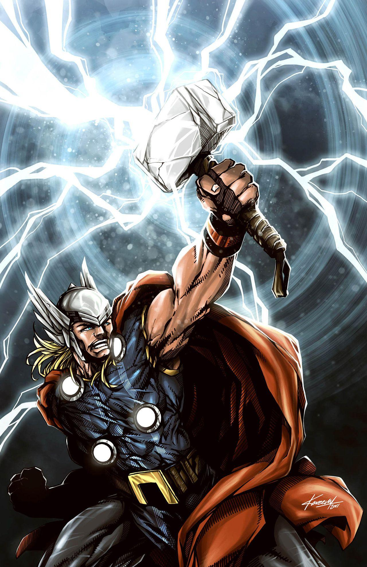 Thor God Of Thunder Wallpapers - Wallpaper Cave