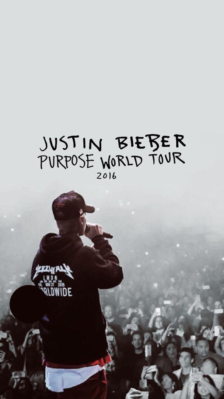 Justin Bieber Purpose World Tour Wallpapers Wallpaper Cave