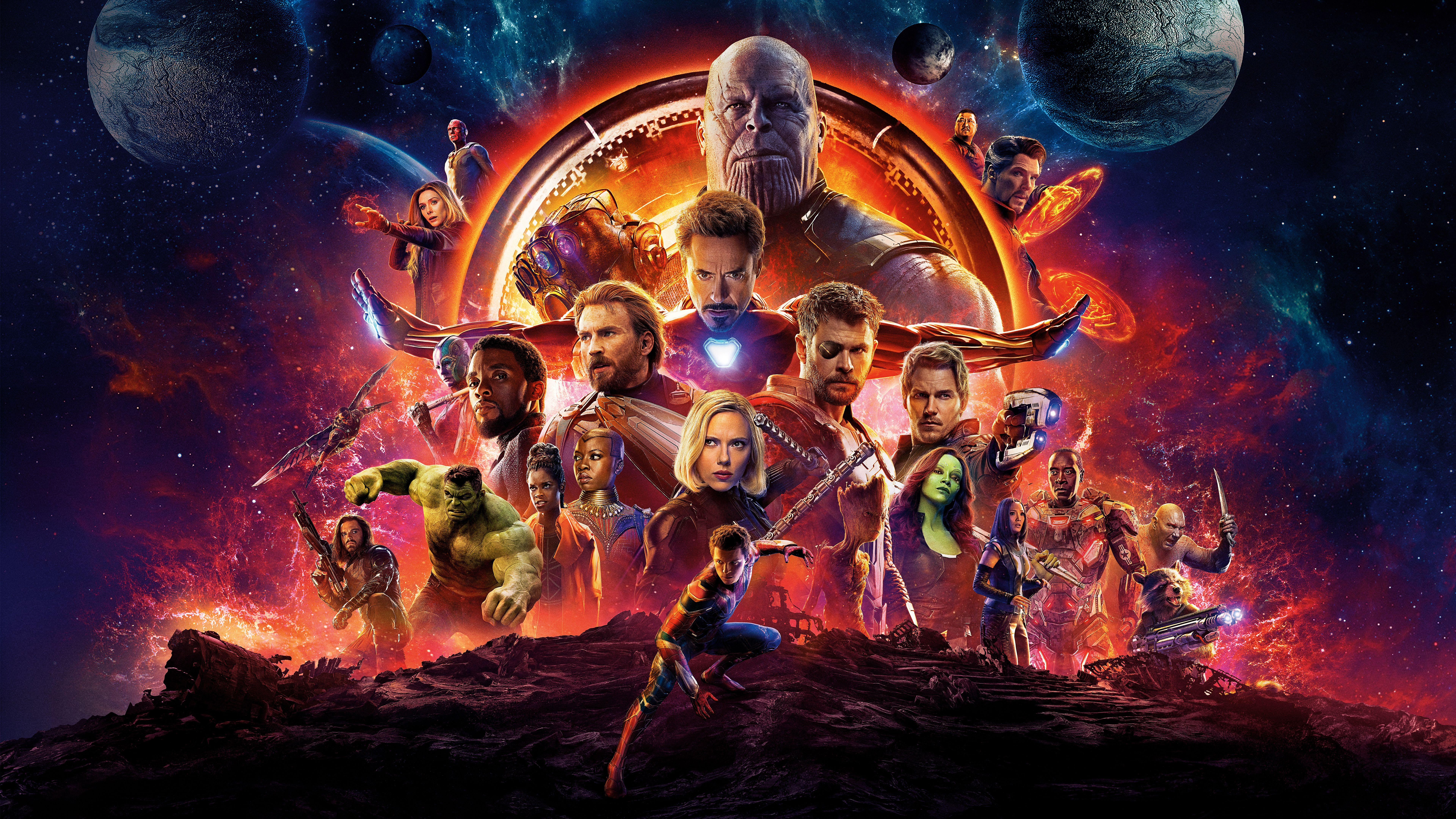 Infinity War Poster Wallpapers Wallpaper Cave