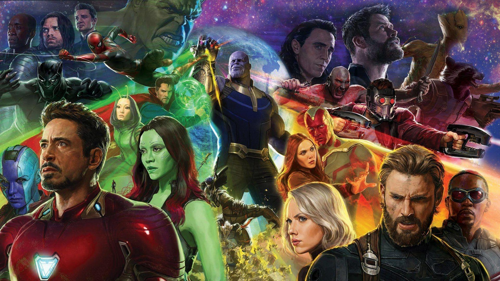 Avengers Infinity War wallpapers 4