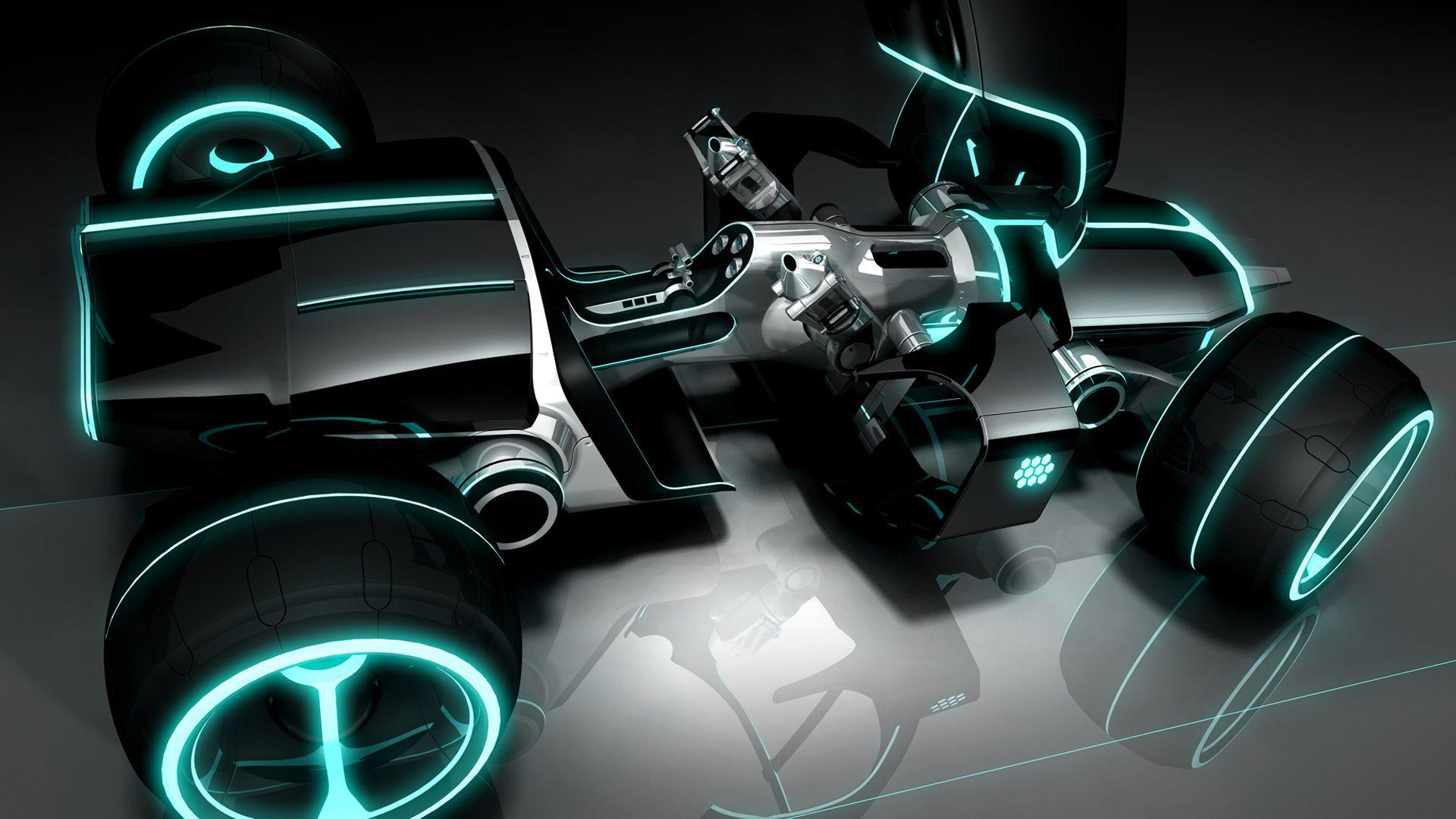 Movies Tron Legacy Light Car Wallpapers Desktop Phone Tablet