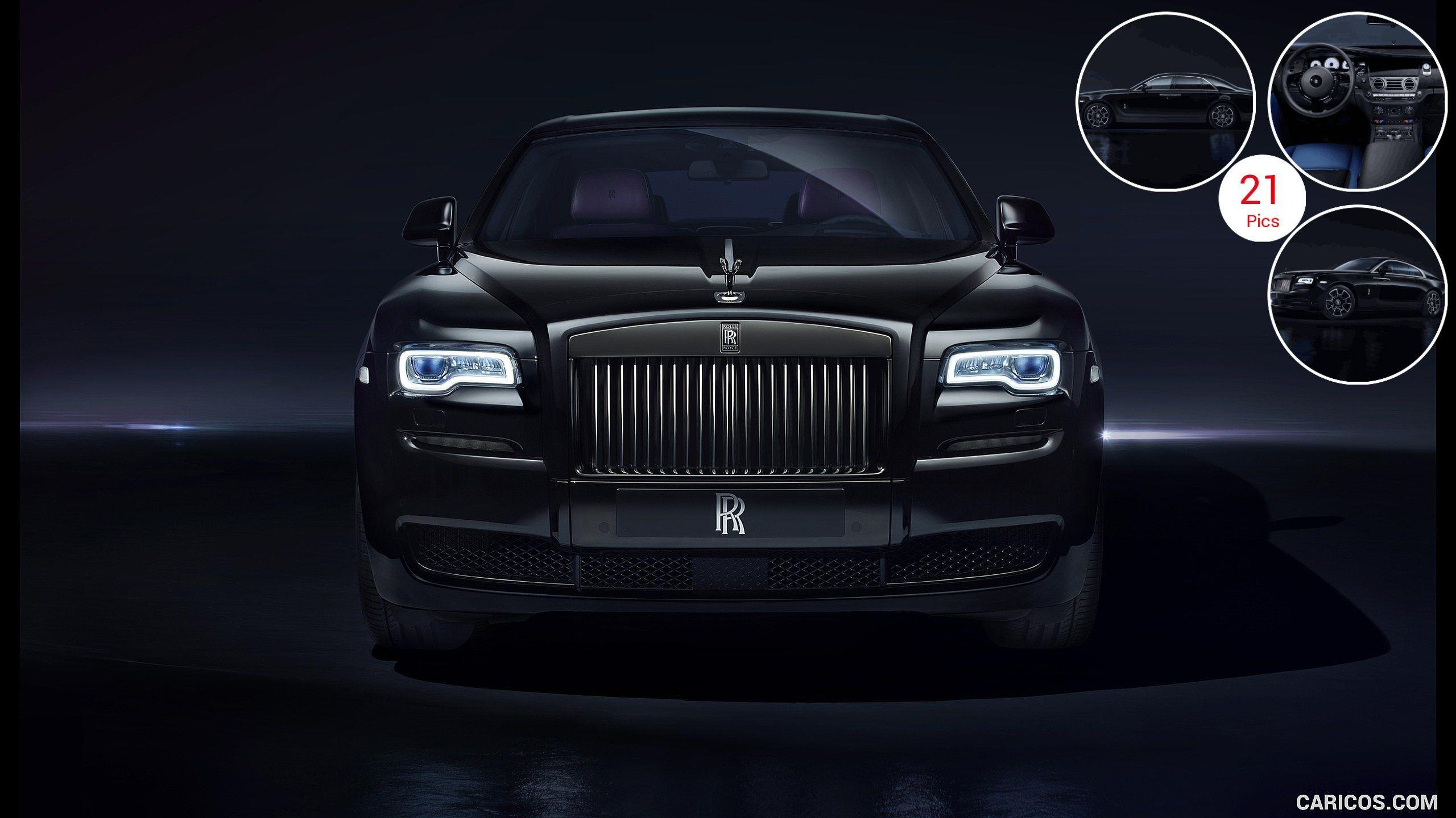 2016 Rolls-Royce Ghost Black Badge - Front | HD Wallpaper #13