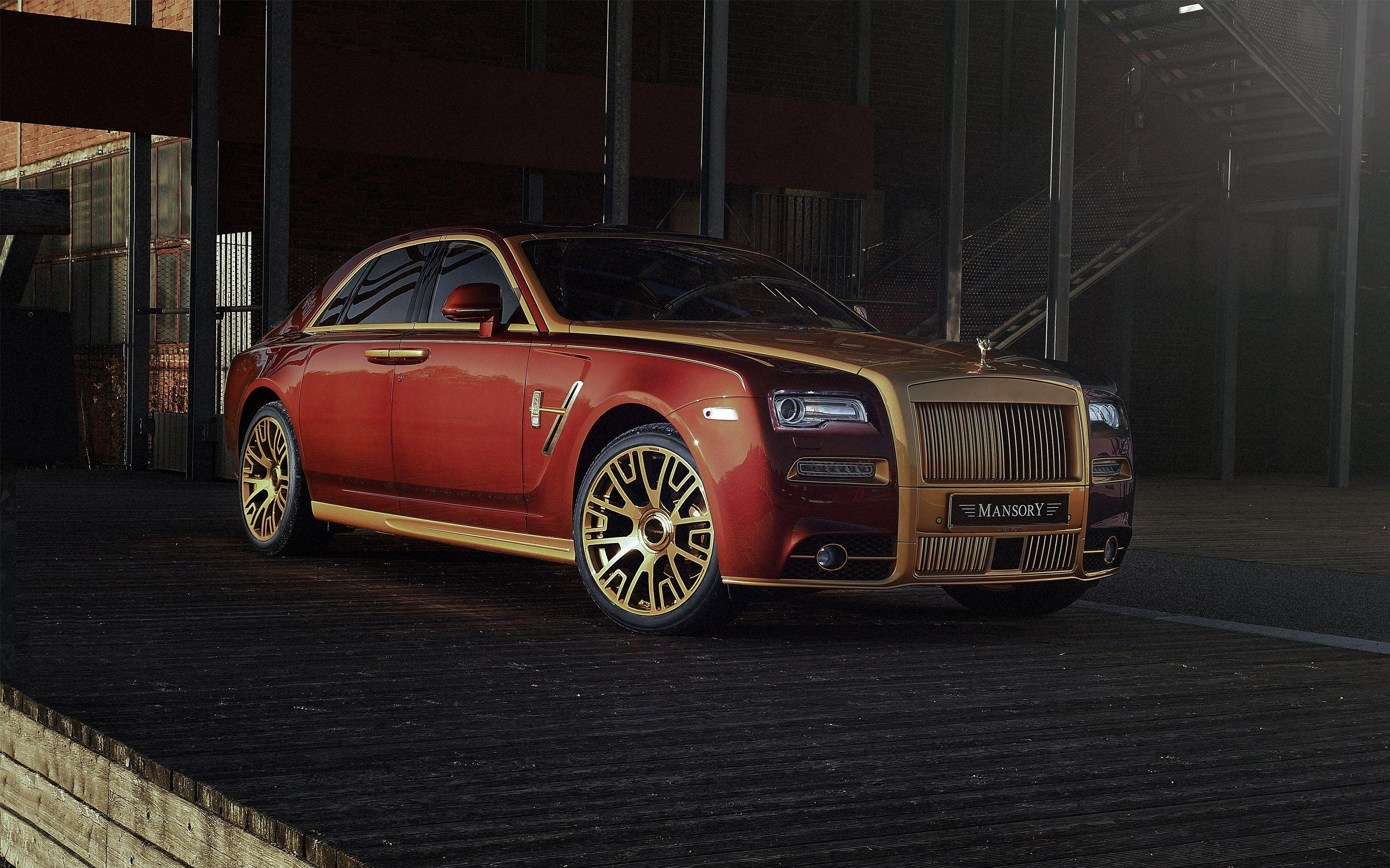 2017 Mansory Rolls Royce Ghost 4K Wallpapers | HD Wallpapers | ID #19431