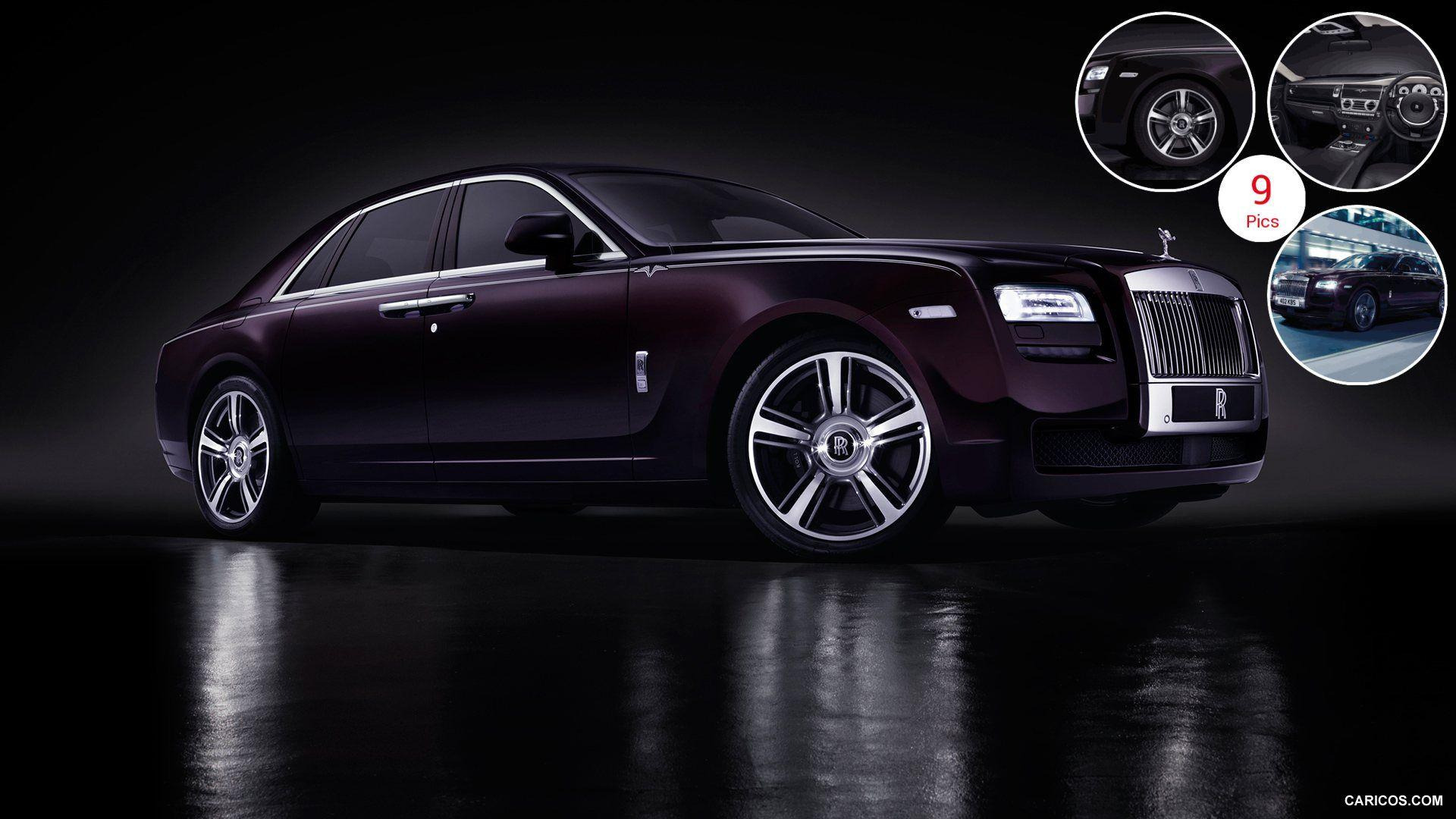 2015 Rolls-Royce Ghost V-Specification - Front | HD Wallpaper #4