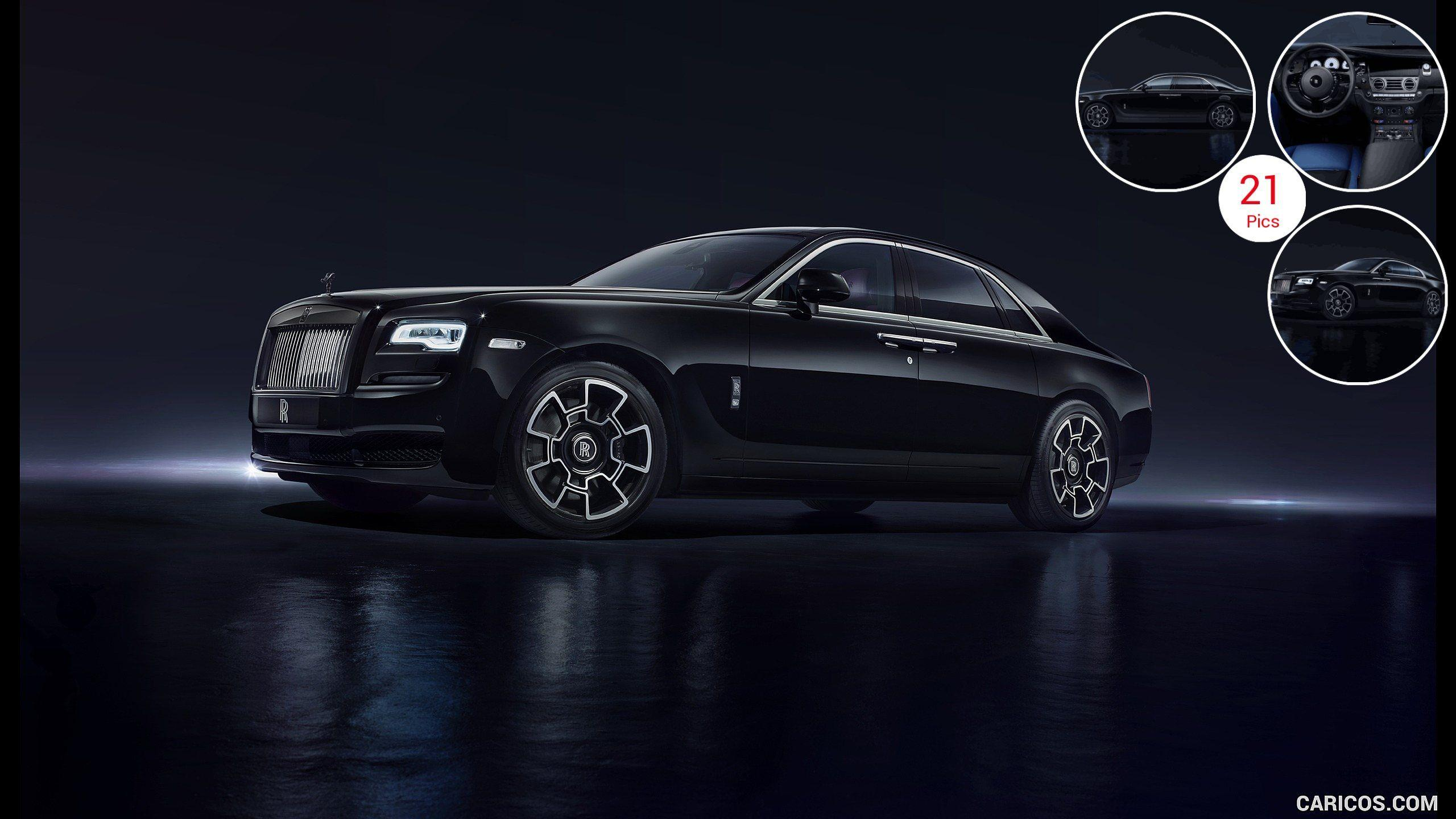 2016 Rolls-Royce Ghost Black Badge - Front | HD Wallpaper #12