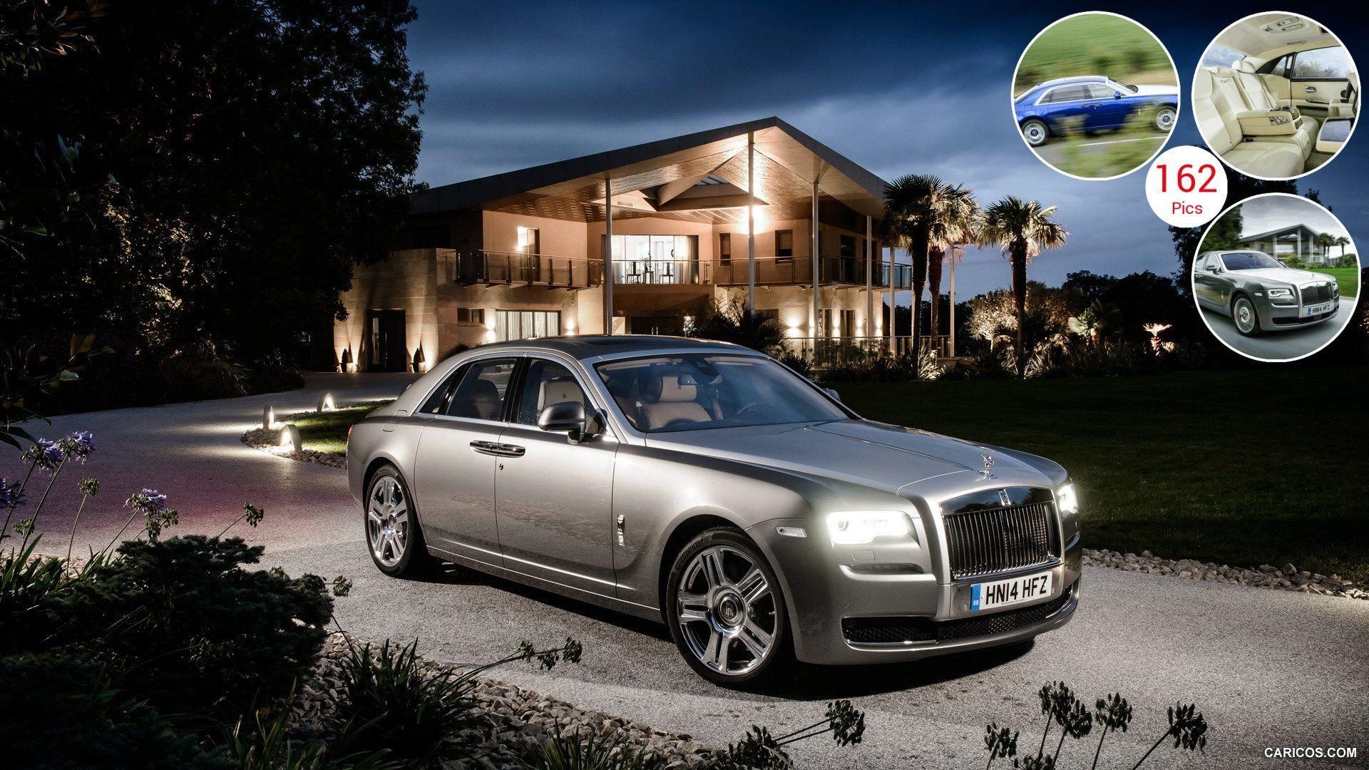 2015 Rolls-Royce Ghost Series II - Front | HD Wallpaper #5