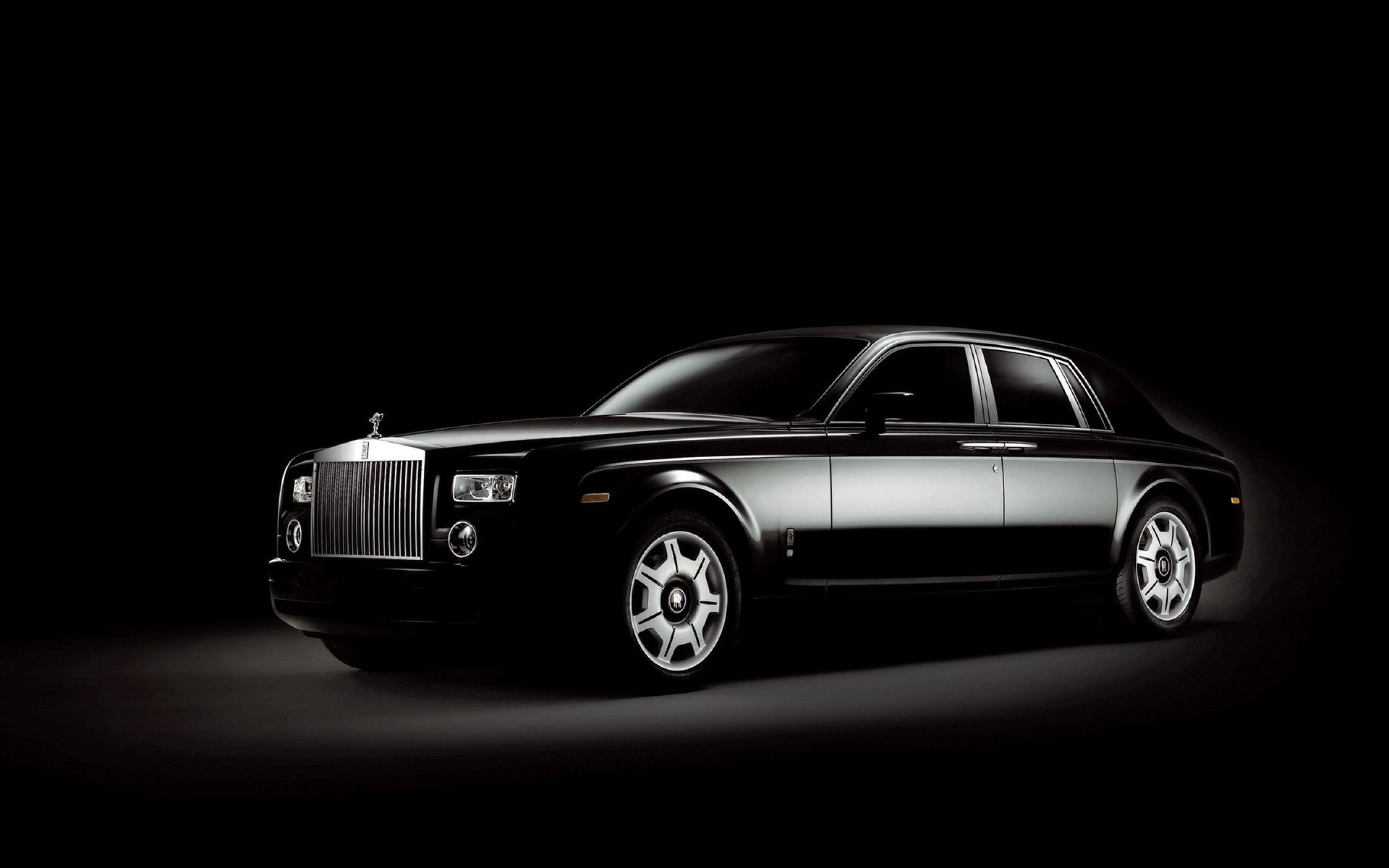 Rolls Royce Phantom Black 4k HD Wallpaper - 4K Cars Wallpapers