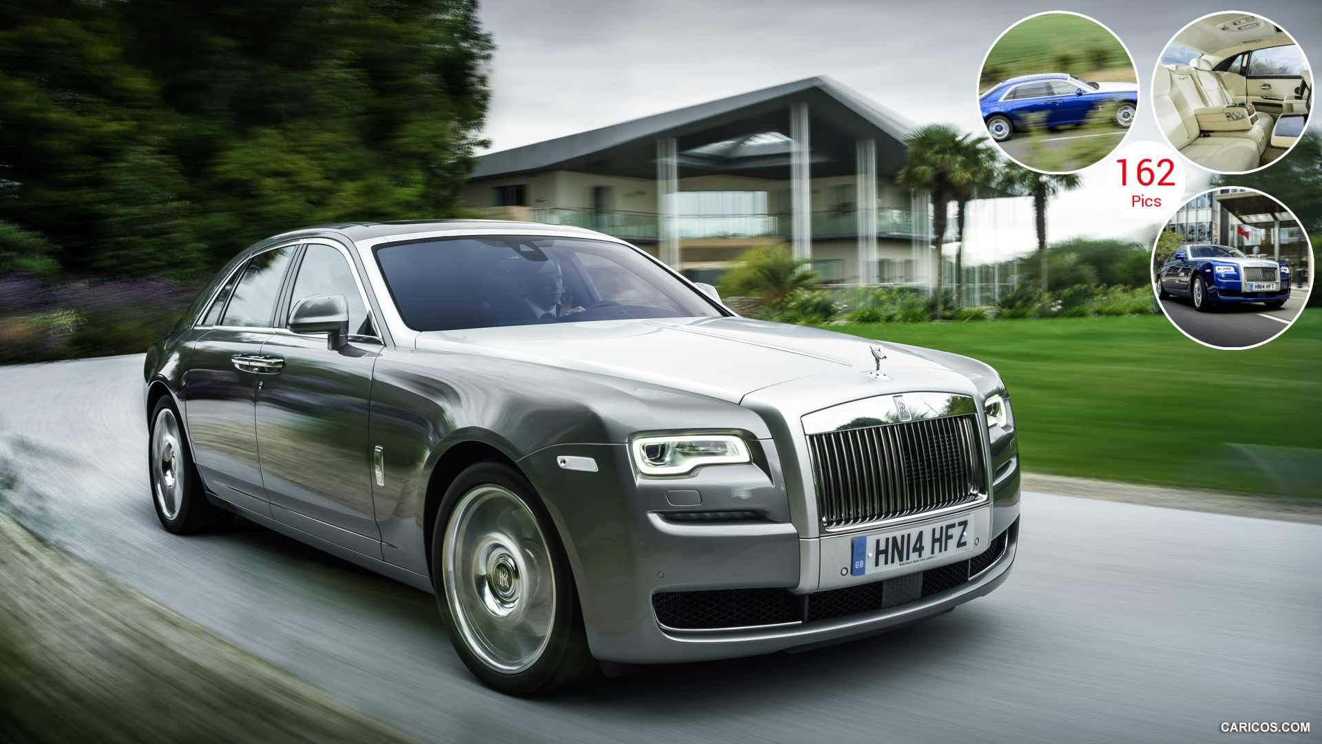 2015 Rolls-Royce Ghost Series II - Front | HD Wallpaper #1 | 1920x1080