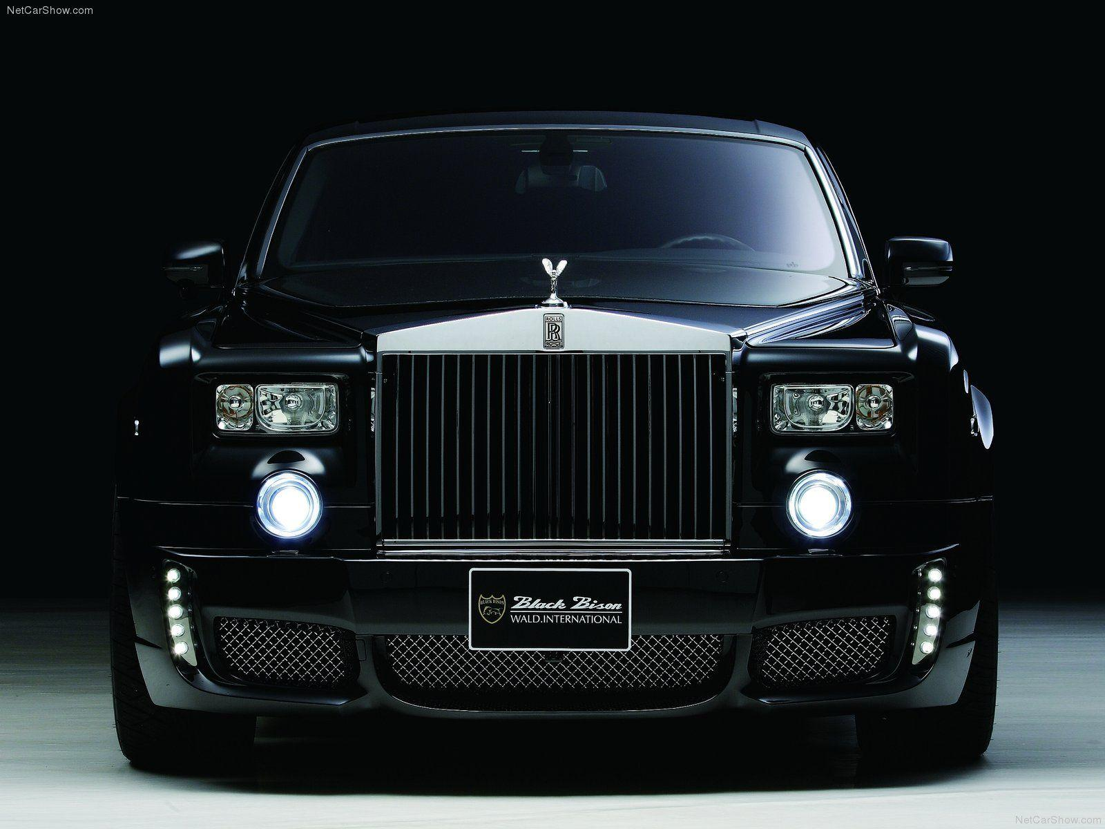 Rolls Royce Black Color Images For Desktop HD Wallpaper | Yoga ...