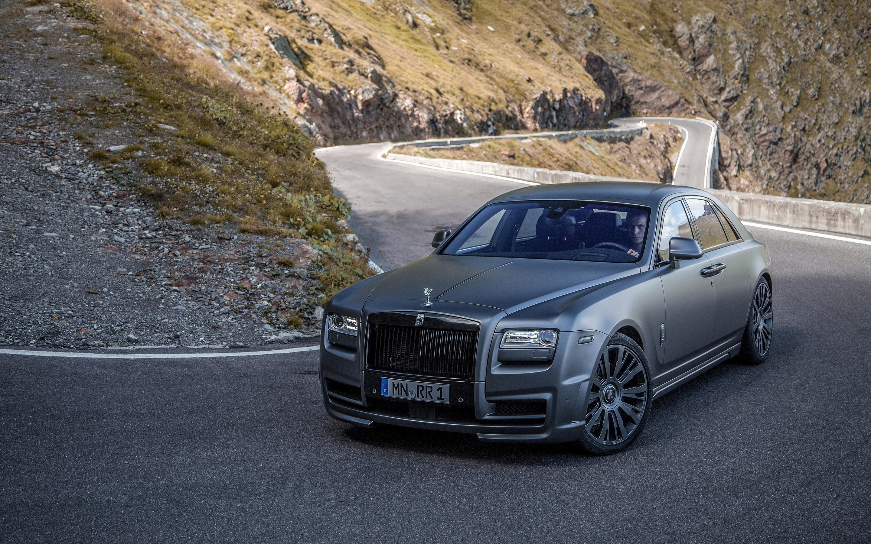 HD Matte gray Rolls Royce Ghost Wallpaper | Download Free - 149145