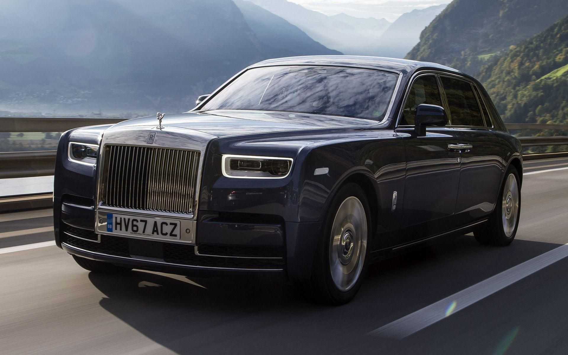 Rolls-Royce Phantom [EWB] (2017) Wallpapers and HD Images - Car Pixel