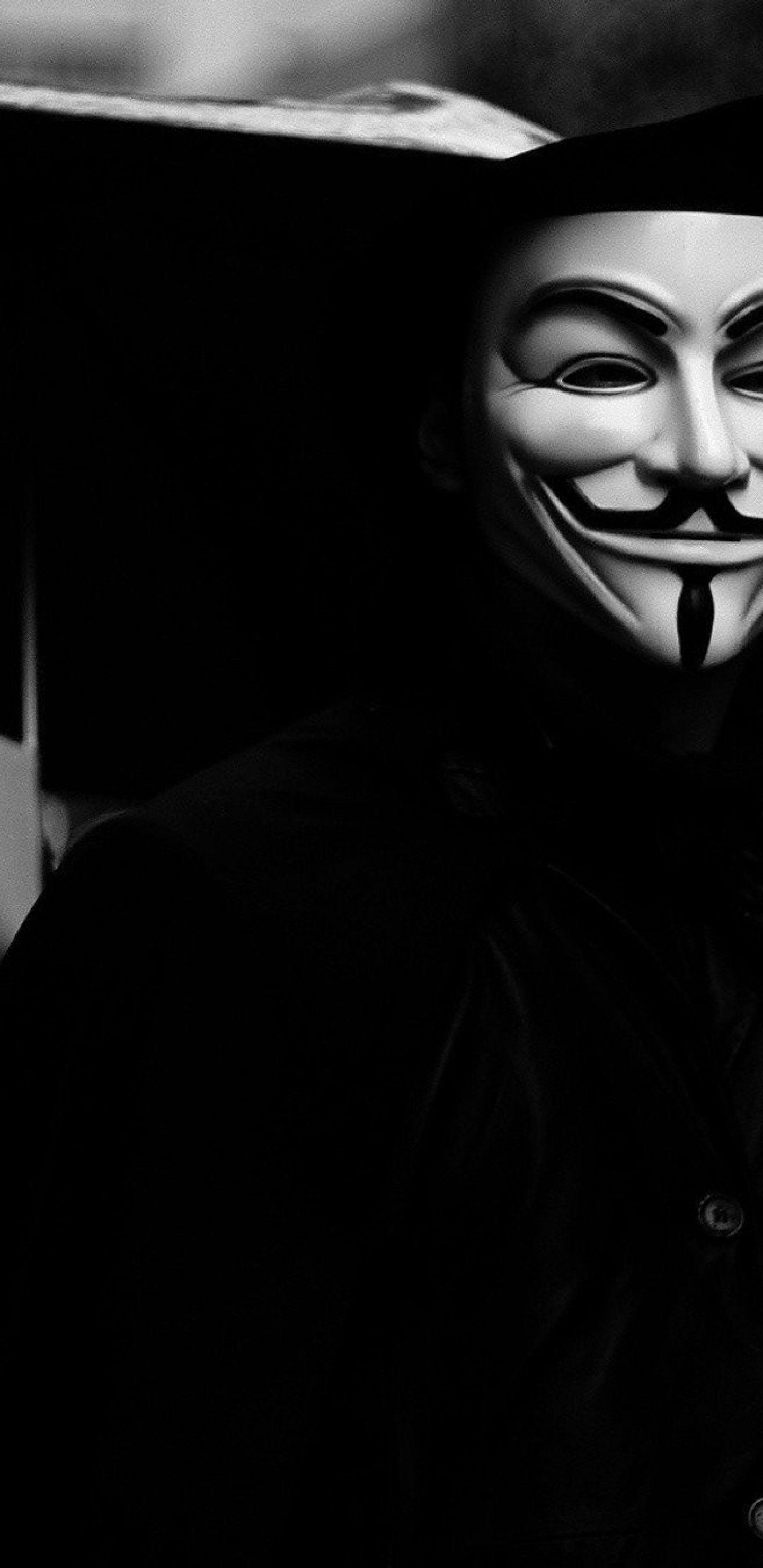 V For Vendetta Mask Wallpapers Wallpaper Cave