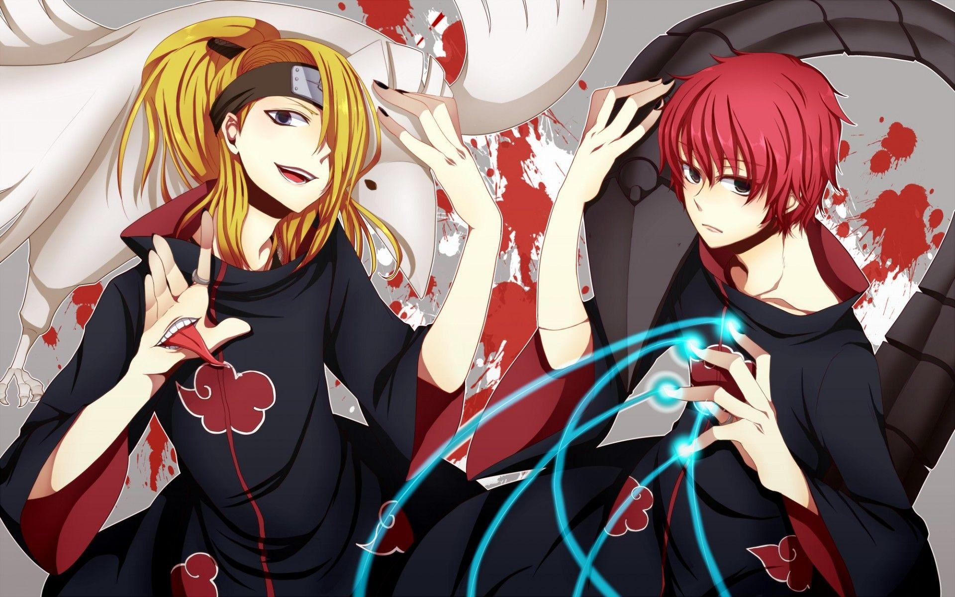 Sasori Und Deidara Wallpapers Wallpaper Cave