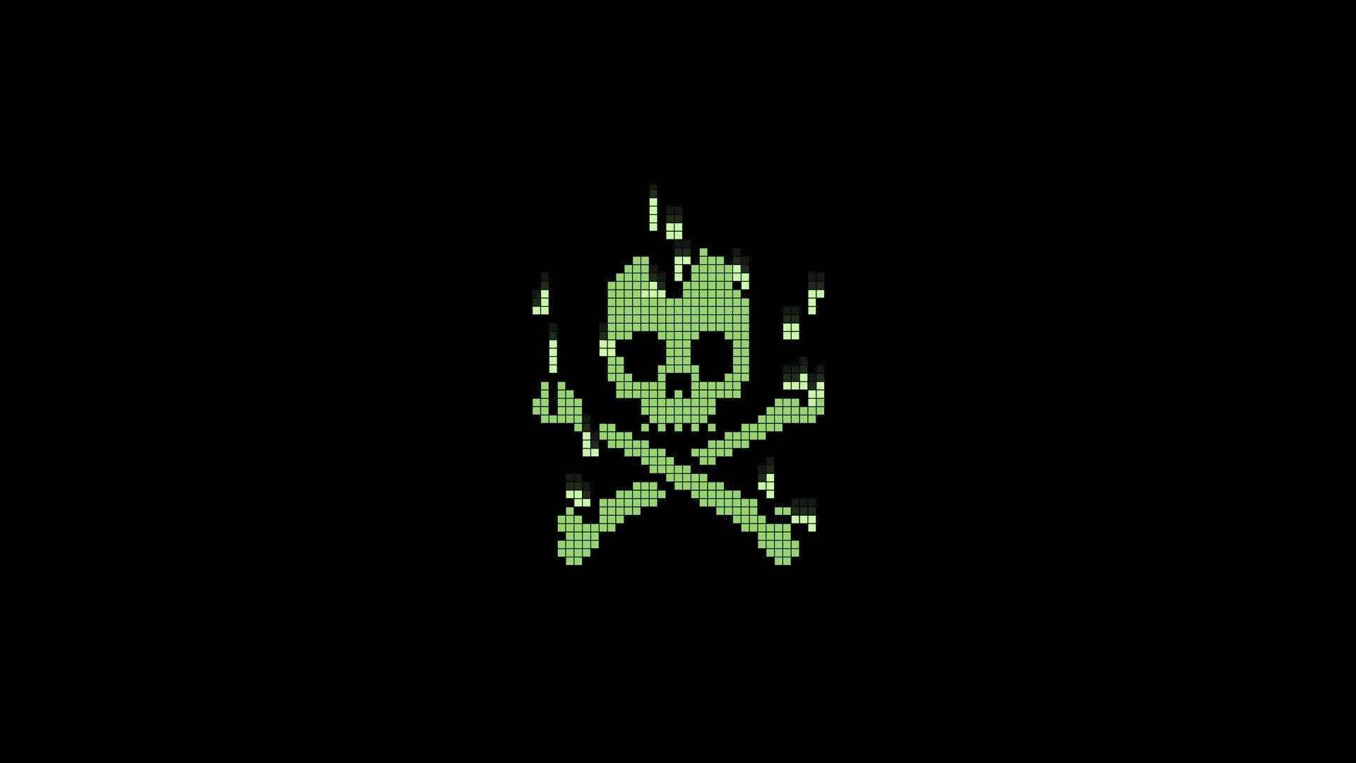 Green Hacker Skull Wallpapers Hd Wallpaper Cave