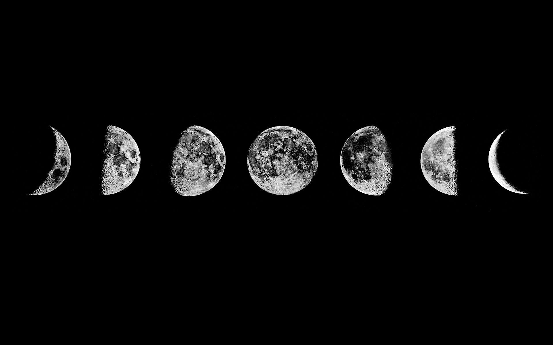Moon phases Wallpaper #3505 | Home is where the ♥ is.