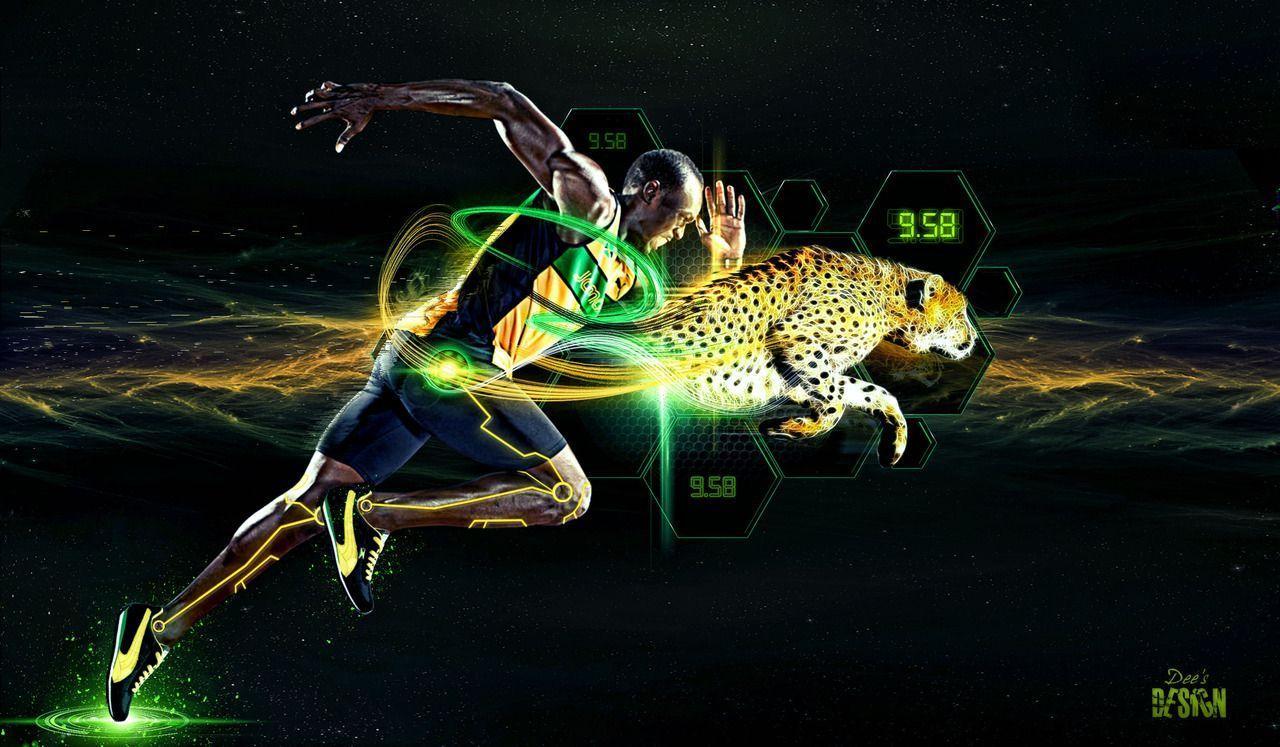 Usain Bolt Running Wallpapers