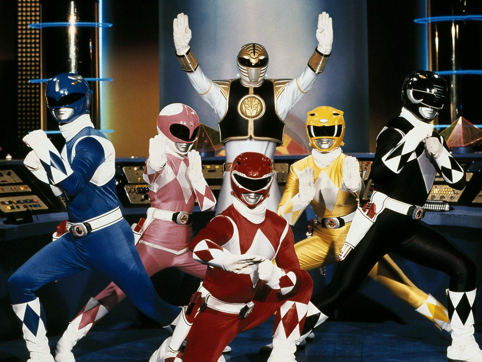 Mighty Morphin Power Rangers Wallpapers Wallpaper Cave