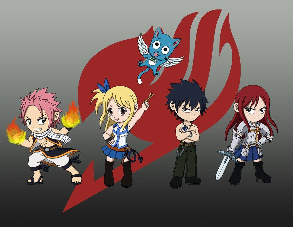 Fairy Tail Wallpapers Chibi - Wallpaper Cave