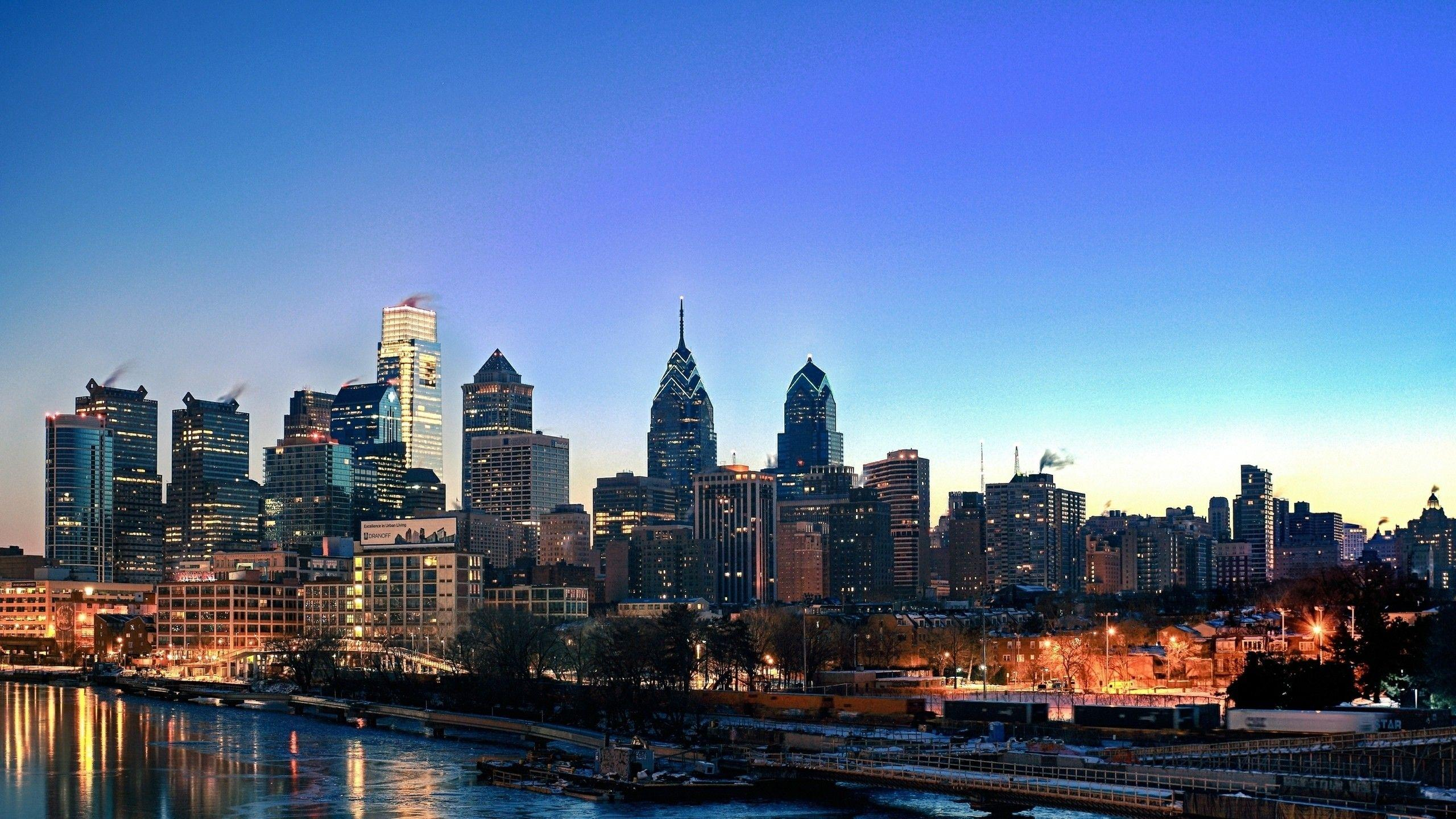 Philadelphia Skyline Wallpapers ·①