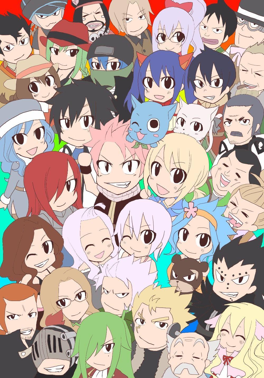 Custom Fairy Tail Anime New Silk Poster Wall Decor