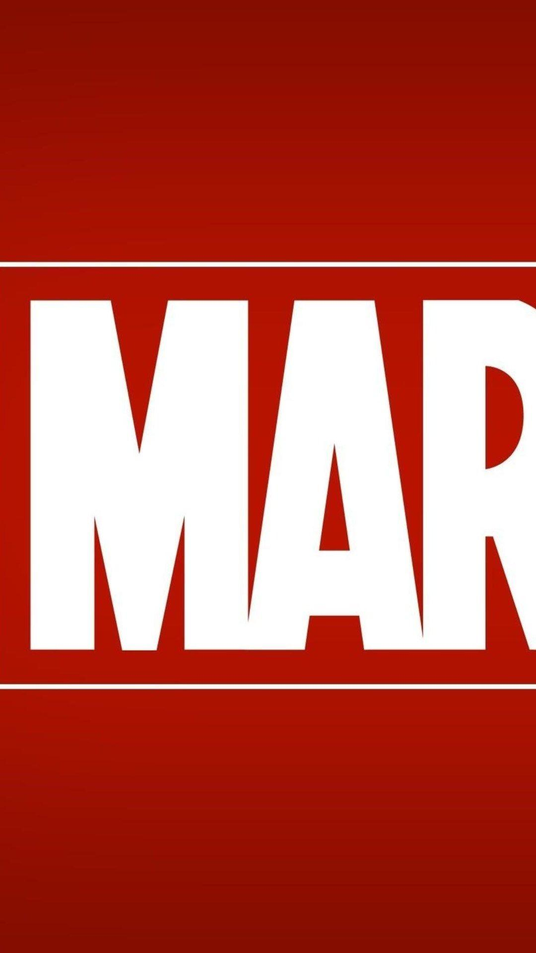 Marvel Logo Wallpapers Wallpaper Cave