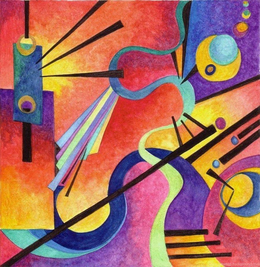 kandinsky paintings names - 800×820