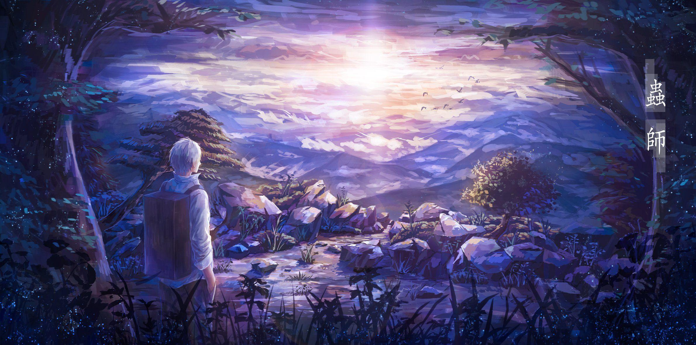 Mushishi Ginko wallpapers