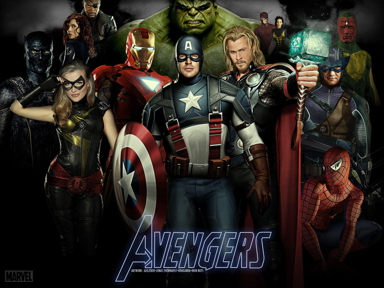 280 The Avengers HD Wallpapers